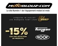 Motoblouz: 15% de rabais sur une sélection d'équipements des marques Furygan & Roof