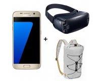 Cdiscount: Smartphone Samsung Galaxy S7 Blanc + Samsung Gear VR + Sac à dos à 399€