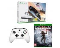 Amazon: Xbox One S 500Go + Forza Horizon 3 + Manette + Rise of the Tomb Raider à 229,99€