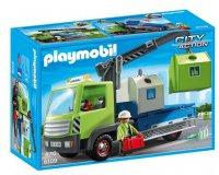 Cultura: Camion avec grue et conteneurs à verre - Playmobil - 6109 à 24,99€