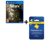 Cdiscount: Abonnement Playstation Plus (PS4) 1 an + Fallout 4 à 49.99 €