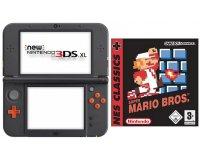 Micromania: Le jeu Super Mario Bros (NES) offert pour toute commande d'une NEW 3DS XL