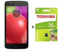 Cdiscount: Smartphone Motorola Moto E4 Plus Gris + carte mémoire Toshiba 16Go à 149€