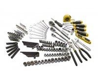 Amazon: Coffret d'outils Stanley pour mécanique 210 pièces à 75 €