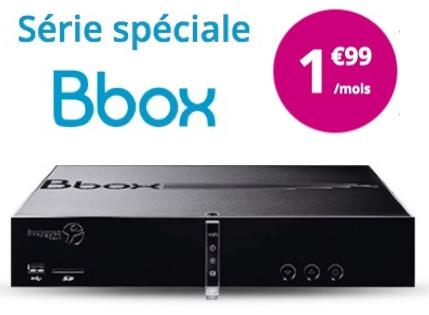 Code promo Bouygues Telecom : Offre internet Bbox Standard à 1,99€ par mois pendant un an au lieu de 19,99€