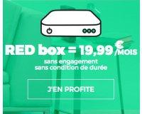 SFR: Abonnement internet RED Fibre par SFR à 19,99€ / mois sans condition de durée