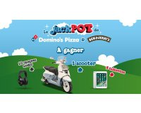 Domino's Pizza: 1 Scooter Django Evasion 125cm3, 5 tablettes, 10 casques audio à gagner