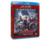 Amazon: Combo Blu-ray 3D + Blu-ray 2D Avengers : L'ère d'Ultron à 10,96€