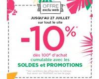 Truffaut: -10% dès 100€ d'achat sur tout le site cumulable avec les soldes et les promos
