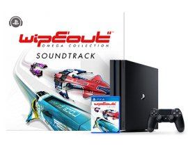 Playstation: 1 PS4 Pro et 1 exemple de WipEout Omega Collection à gagner