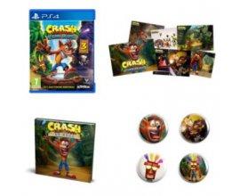 Fnac: Pack Fan exclusif Fnac Crash bandicoot N. Sane Trilogy sur PS4 à 29,99€