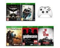 Cdiscount: Pack de 5 jeux et 1 manette Xbox One S à 79,99€