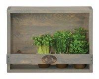 Westwing: Porte-pots mural en bois de pin de 38cm à 19€ au lieu de 29€