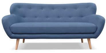 Canap fixe 3 places en tissu oslo coloris bleu 399 10 au lieu de 566 50 - Conforama canape tissu ...