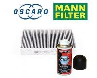 Oscaro: 1 filtre d'habitacle Mann-Filter acheté = 1 nettoyant climatisation FACOM à 1€