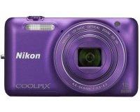 Conforama: Appareil photo numérique compact NIKON COOLPIX S6600 VIOLET à 97€
