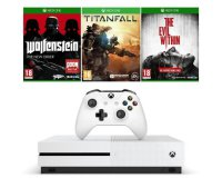 Cdiscount: Xbox One S 500 Go + Wolfenstein + Titanfall + The Evil Within à 239,99€