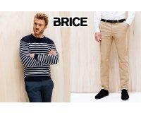 Brice: 2 pulls ou 2 pantalons achetés en soldes = 15% de réduction supplémentaire