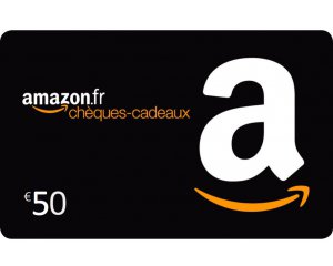 Amazon: Recevez 10€ pour l'achat d'un chèque cadeau d'une valeur de 50€