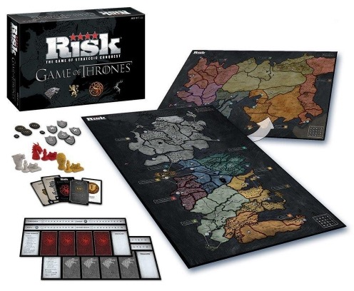 Code promo Amazon : Jeu de société Risk Edition Collector Game of Thrones à 27,12€