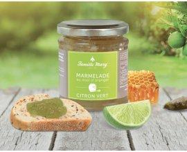 Famille Mary: Marmelade au Miel d'Oranger & Citron Vert offerte dès 19€ d'achats