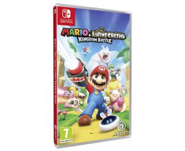 Micromania: Mario + The Lapin Crétins Kingdom Battle sur Nintendo Switch à 39,99€