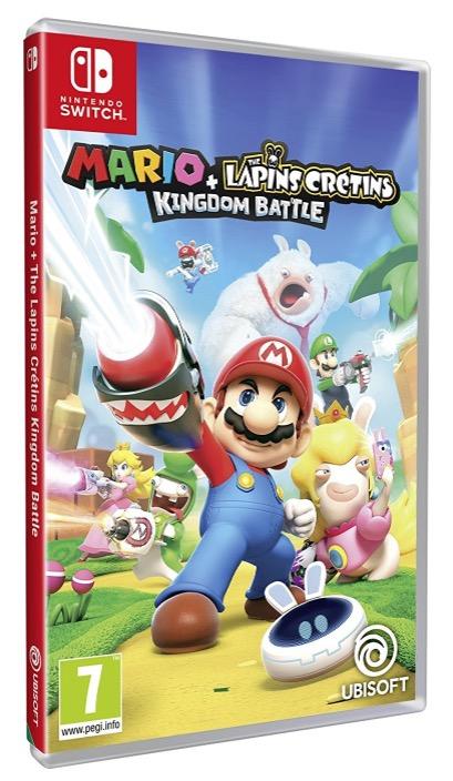 Code promo Micromania : Mario + The Lapin Crétins Kingdom Battle sur Nintendo Switch à 39,99€
