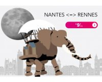 Voyages SNCF: L'aller simple Nantes <=> Rennes en TER à 9€ sans restriction d'age ou d'horaire