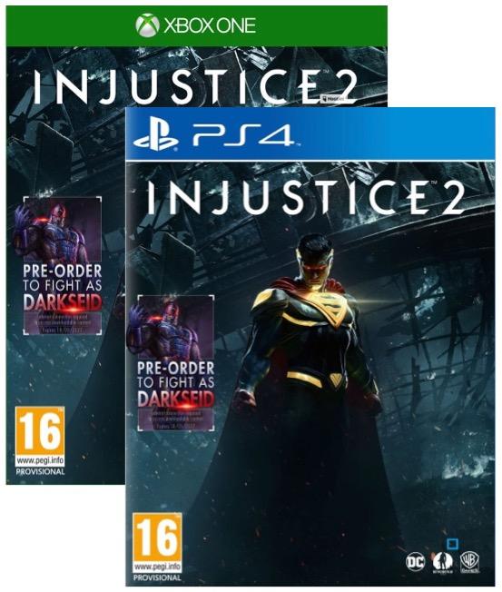 Injustice 2 sur ps4 ou xbox one 44 99 auchan - Quel est la meilleur console ps4 ou xbox one ...
