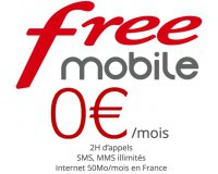 Free: Forfait mobile 2h d'appels et SMS & MMS illimités à 0€ pour les abonnés box