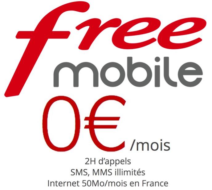 Code promo Free : Forfait mobile 2h d'appels et SMS & MMS illimités à 0€ pour les abonnés box