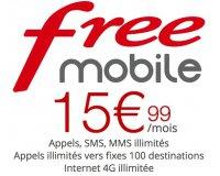Free: [Abonnés Box] Forfait mobile Appels, SMS/MMS et Internet illimités à 15,99€/mois