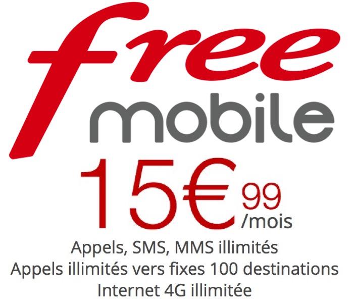Code promo Free : [Abonnés Box] Forfait mobile Appels, SMS/MMS et Internet illimités à 15,99€/mois