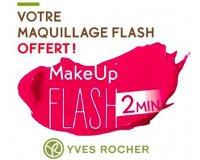 Yves Rocher: Votre maquillage flash offert en magasin