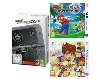 Amazon: New Nintendo 3DS XL + Mario Golf: World Tour + Inazuma Eleven Go: Lumière à 199€