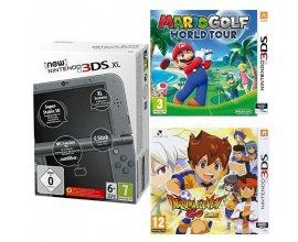 Amazon: New Nintendo 3DS XL + Mario Golf: World Tour + Inazuma Eleven Go: Lumière à 199€