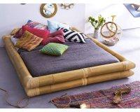 Delamaison: Lit futon en bambou 160x200 Balyss en soldes à 399€