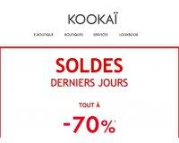 Kookaï : Tous les produits soldés à -70%