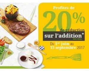 Courtepaille: 20% de remise sur l'addition pour les titulaires de la carte Ticket Restaurant