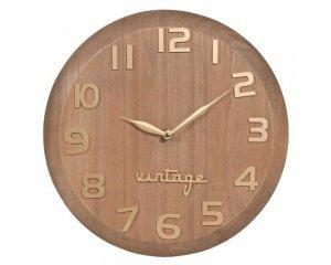 l 39 horloge vintage en bois en soldes 10 95 au lieu de 21 99 maisons du monde. Black Bedroom Furniture Sets. Home Design Ideas