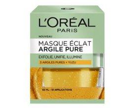 Beauté Test: 100 masques Eclat à l'argile pure de L'Oréal à tester