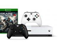Microsoft: Pack Xbox One S 1To Gears of War 4 + 2ème manette à 279€ au lieu de 408,99€