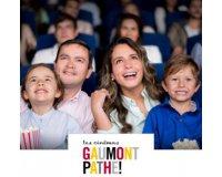 Showroomprive: Places de cinéma Gaumont Pathé à 6,40€ valables du 16/08 au 30/09/2017