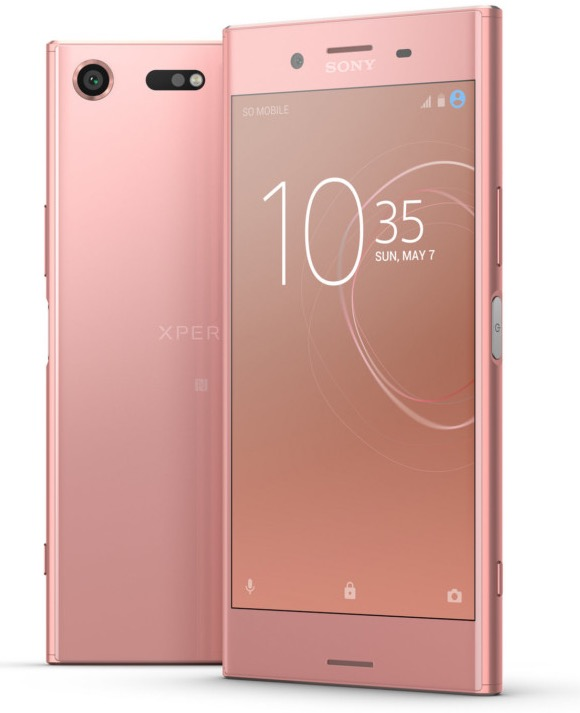 1 smartphone sony xperia xz premium rose gagner sony. Black Bedroom Furniture Sets. Home Design Ideas