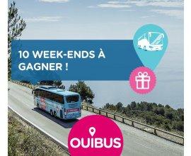 OUIBUS: 10 week-ends thématiques pour deux à gagner en jouant au memory OUIBUS