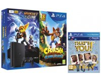 Micromania: Pack PS4 Slim 1 To + Ratchet & Clank + Crash Bandicoot + That's You à 329,99€