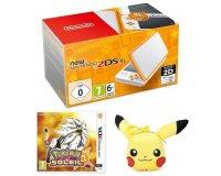 Cdiscount: 1 New Nintendo 2DS XL + le jeu Pokémon Soleil + Peluche Pikachu à 184,99€