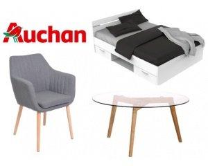 40 offerts tous les 100 d 39 achat sur une s lection de meubles et literie auchan. Black Bedroom Furniture Sets. Home Design Ideas
