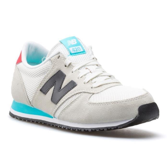 plus de photos c425b 62b14 Chaussures New Balance U420WKR Homme gris à 74€ @ Go Sport