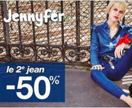 Jennyfer: -50% sur le 2ème jean parmi une sélection